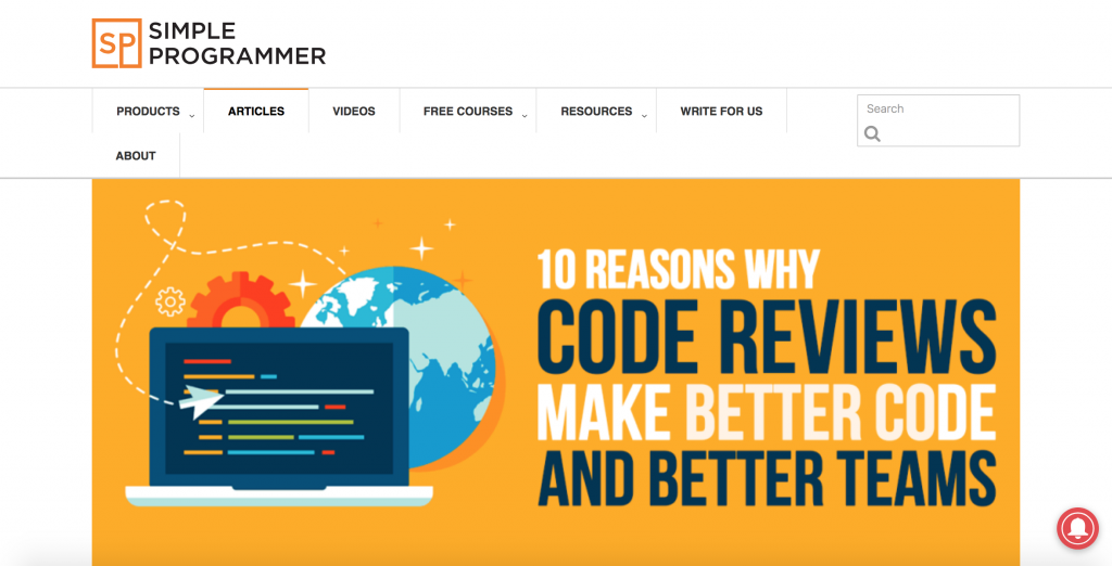 Simple Programmer Blog